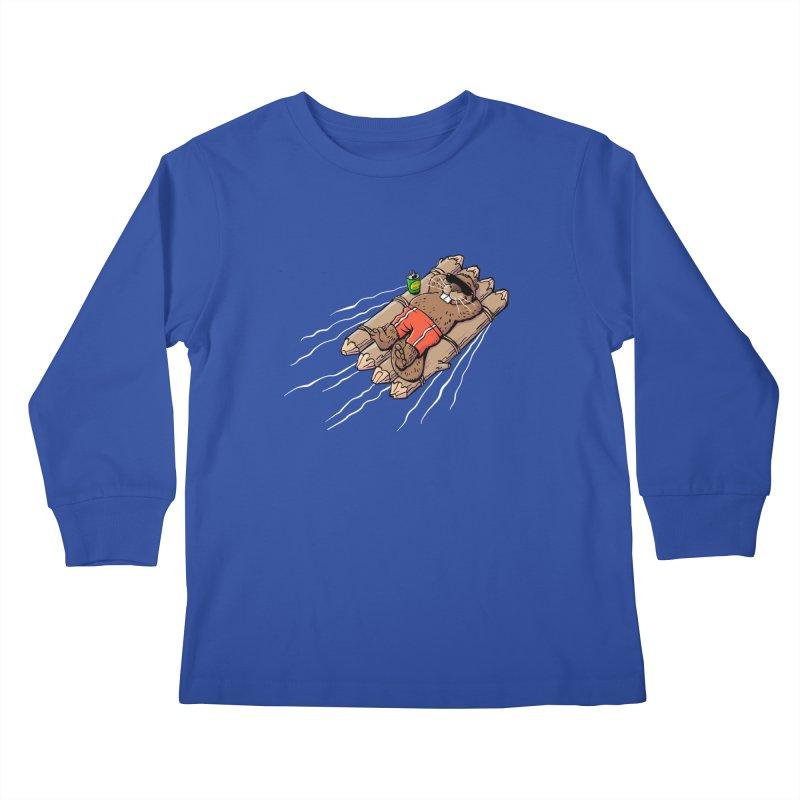 Beavacation Kids Longsleeve T-Shirt by Freehand