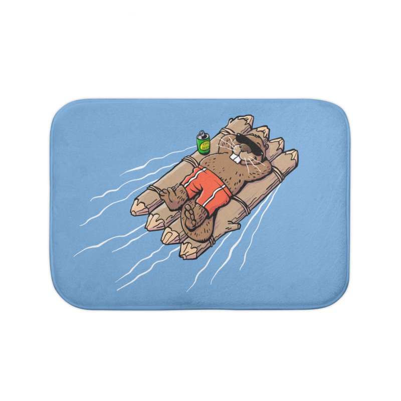 Beavacation Home Bath Mat by Freehand