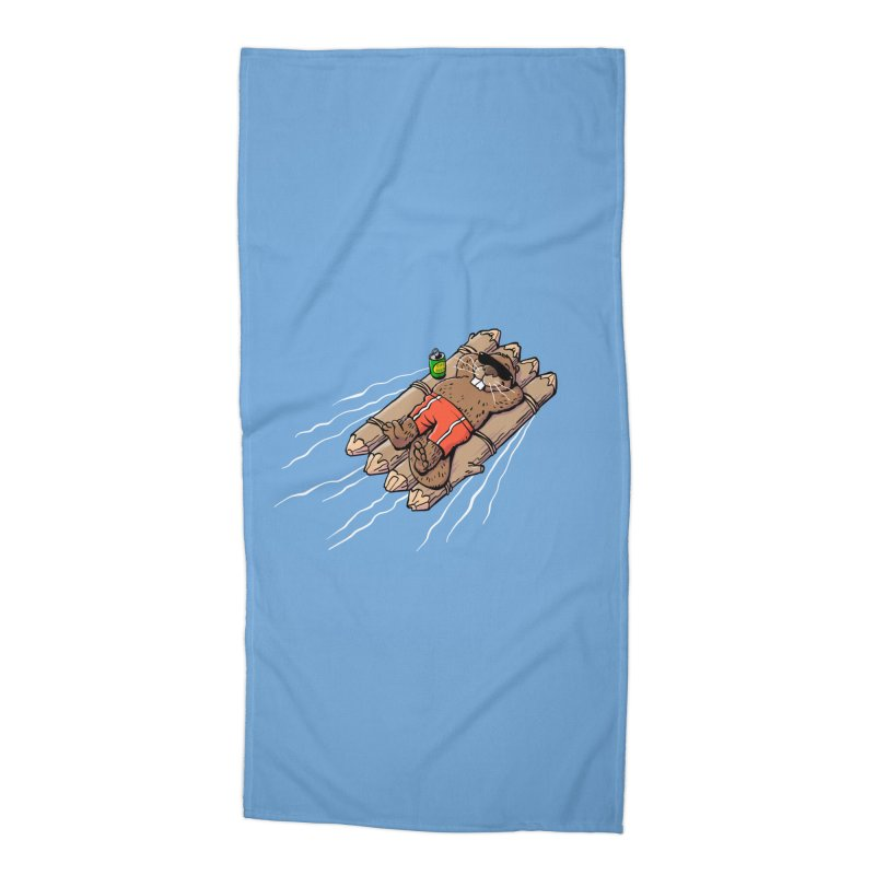 Beavacation Accessories Beach Towel by Freehand