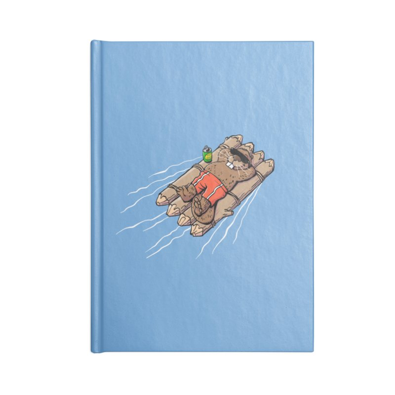 Beavacation Accessories Lined Journal Notebook by Freehand