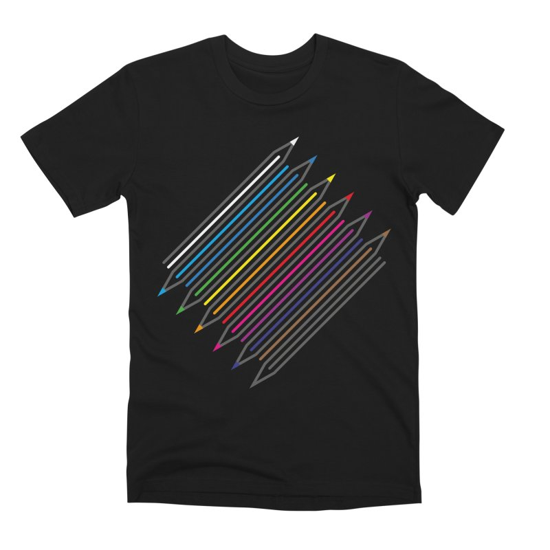 Pencil Collection Men's Premium T-Shirt by Freehand