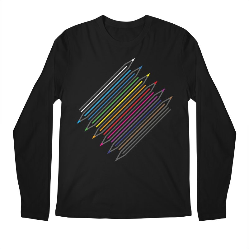 Pencil Collection Men's Longsleeve T-Shirt by Freehand
