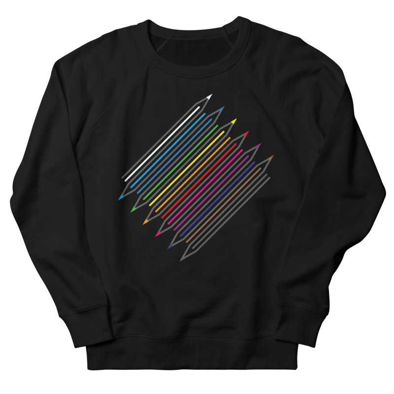 Pencil Collection Men's French Terry Sweatshirt by Freehand