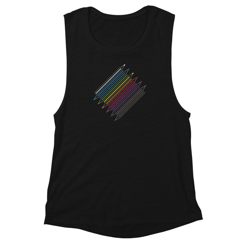 Pencil Collection Women's Muscle Tank by Freehand