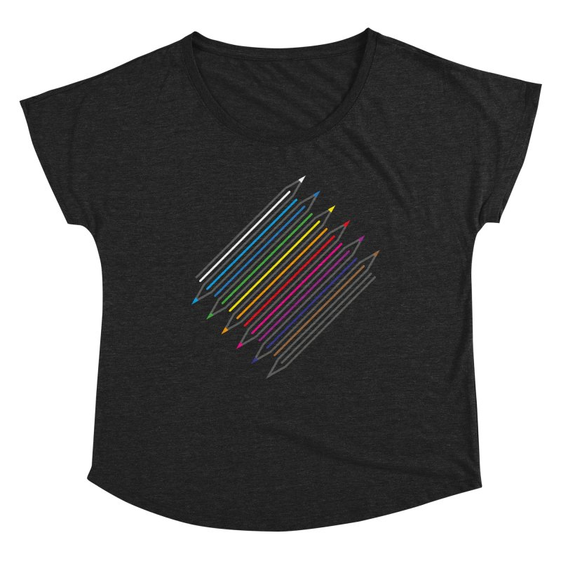 Pencil Collection Women's Scoop Neck by Freehand