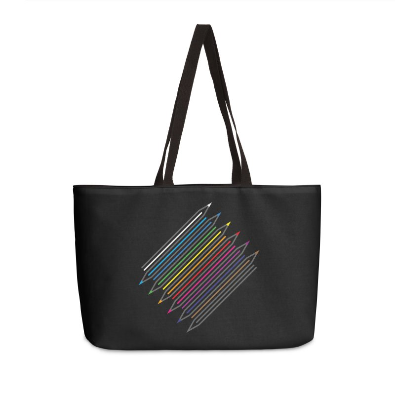 Pencil Collection Accessories Weekender Bag Bag by Freehand