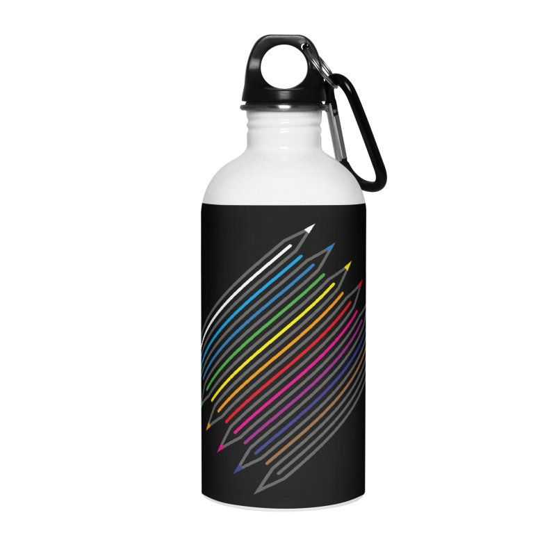 Pencil Collection Accessories Water Bottle by Freehand