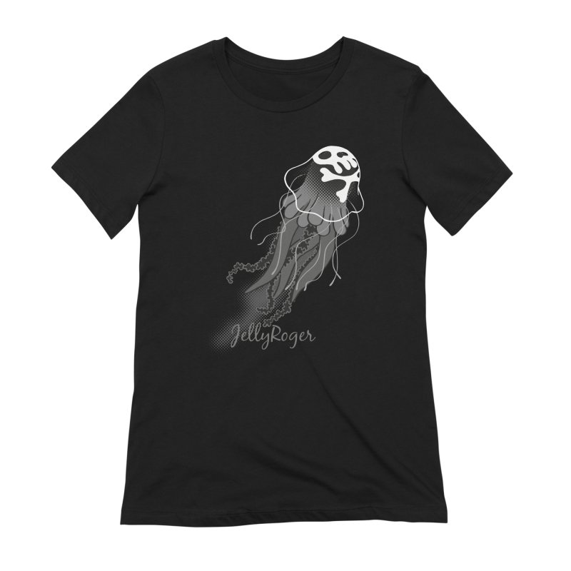 Jelly Roger Women's Extra Soft T-Shirt by Freehand