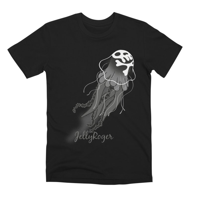 Jelly Roger Men's T-Shirt by Freehand
