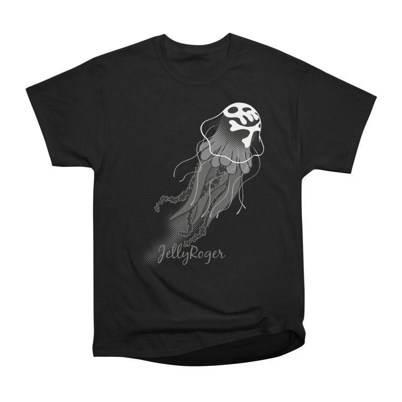 Jelly Roger Men's Heavyweight T-Shirt by Freehand