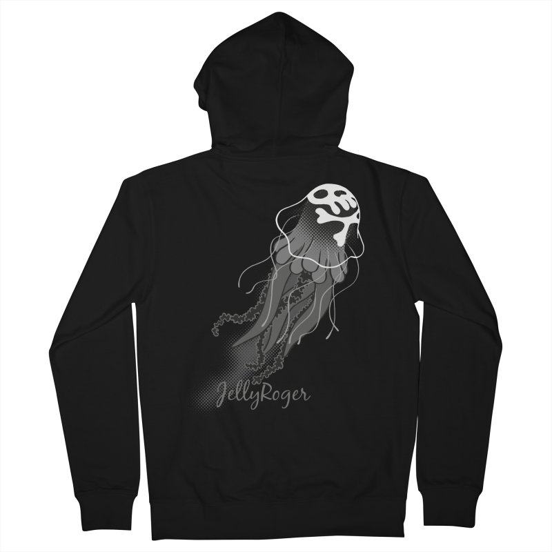Jelly Roger Men's French Terry Zip-Up Hoody by Freehand