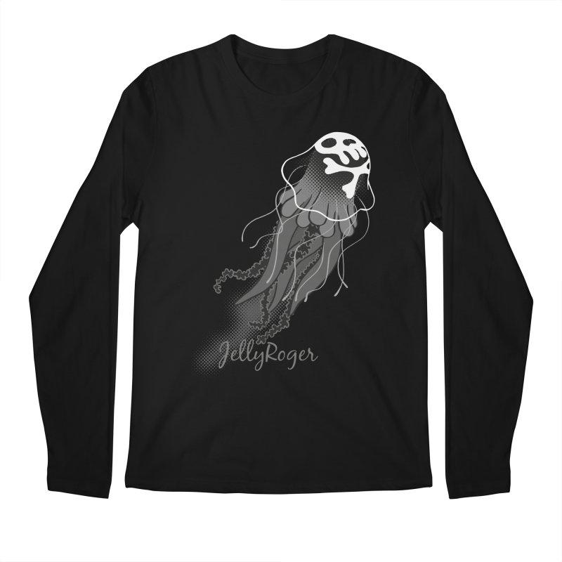 Jelly Roger Men's Regular Longsleeve T-Shirt by Freehand