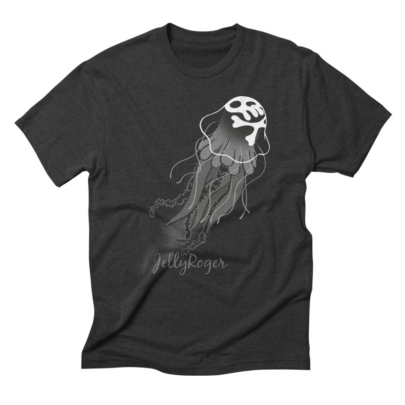 Jelly Roger Men's Triblend T-Shirt by Freehand