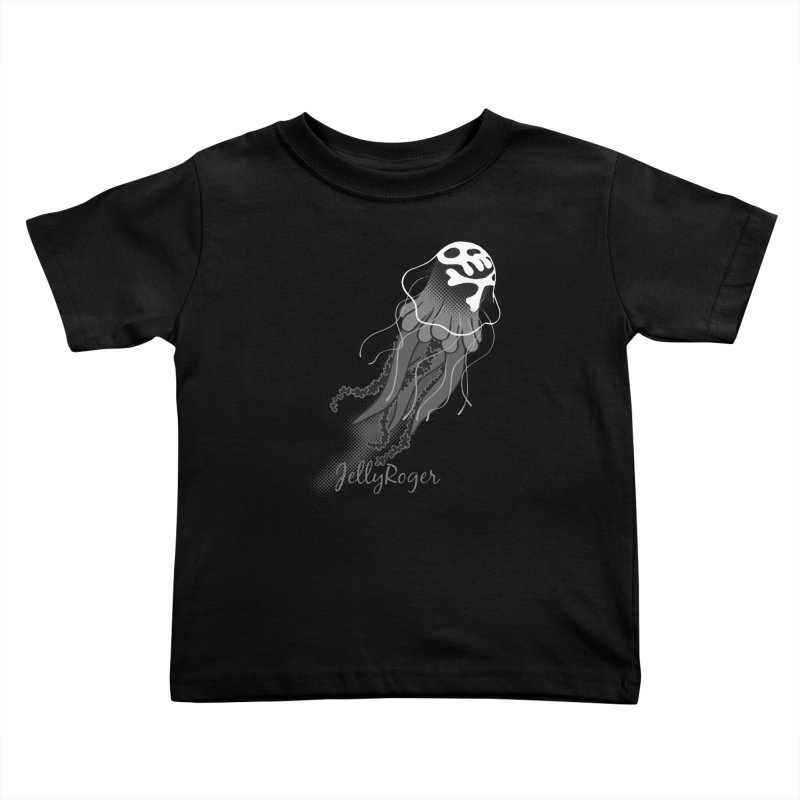Jelly Roger Kids Toddler T-Shirt by Freehand