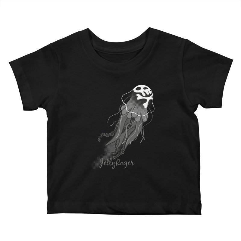 Jelly Roger Kids Baby T-Shirt by Freehand