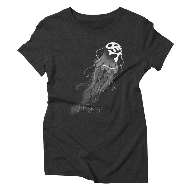 Jelly Roger Women's Triblend T-Shirt by Freehand