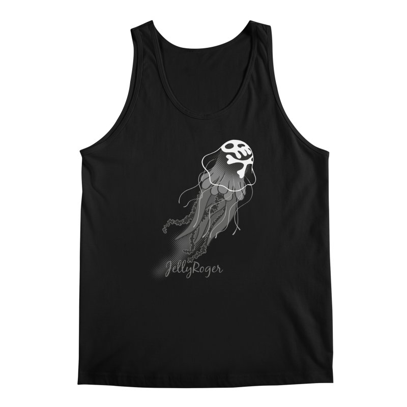 Jelly Roger Men's Regular Tank by Freehand
