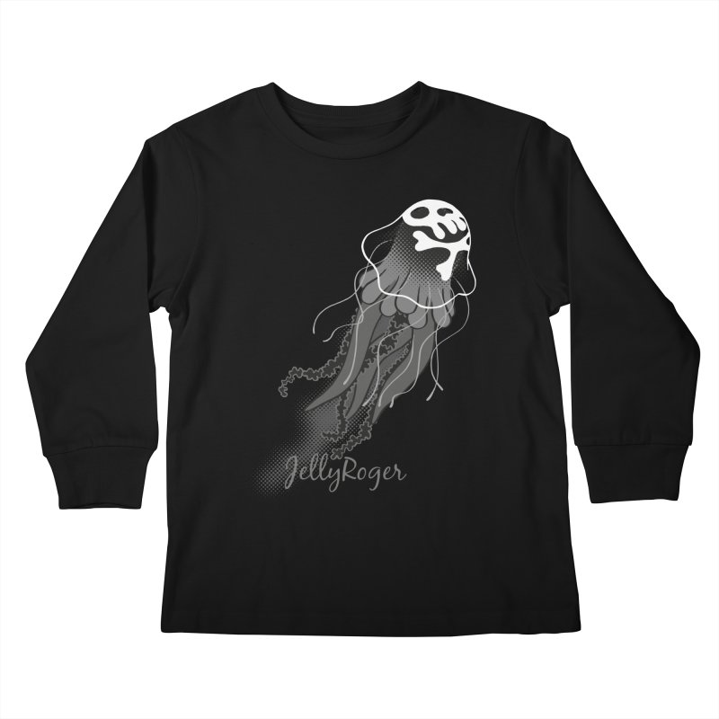 Jelly Roger Kids Longsleeve T-Shirt by Freehand
