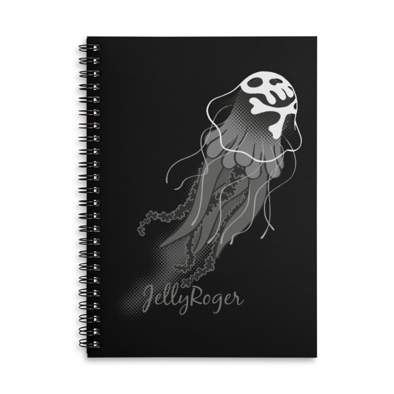Jelly Roger Accessories Lined Spiral Notebook by Freehand