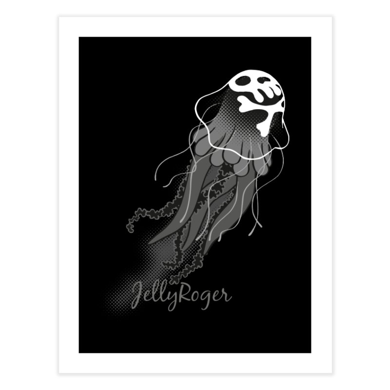 Jelly Roger Home Fine Art Print by Freehand