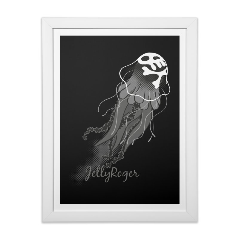 Jelly Roger Home Framed Fine Art Print by Freehand