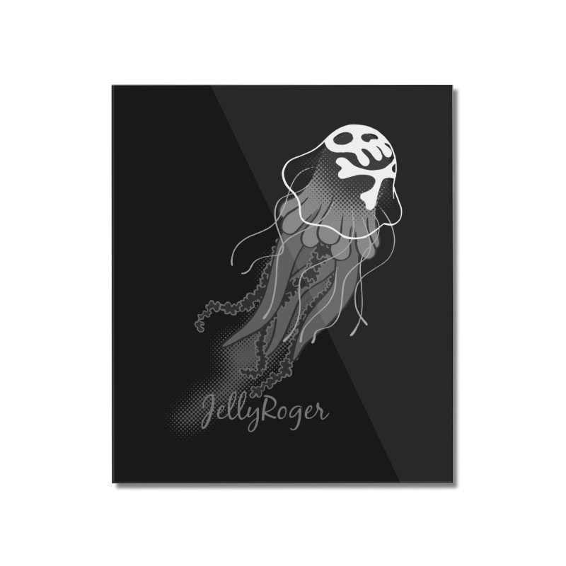 Jelly Roger Home Mounted Acrylic Print by Freehand