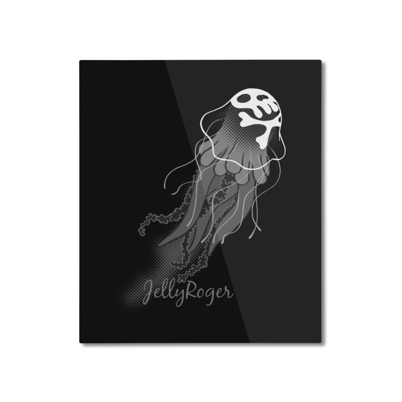 Jelly Roger Home Mounted Aluminum Print by Freehand