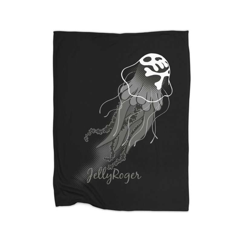 Jelly Roger Home Fleece Blanket Blanket by Freehand