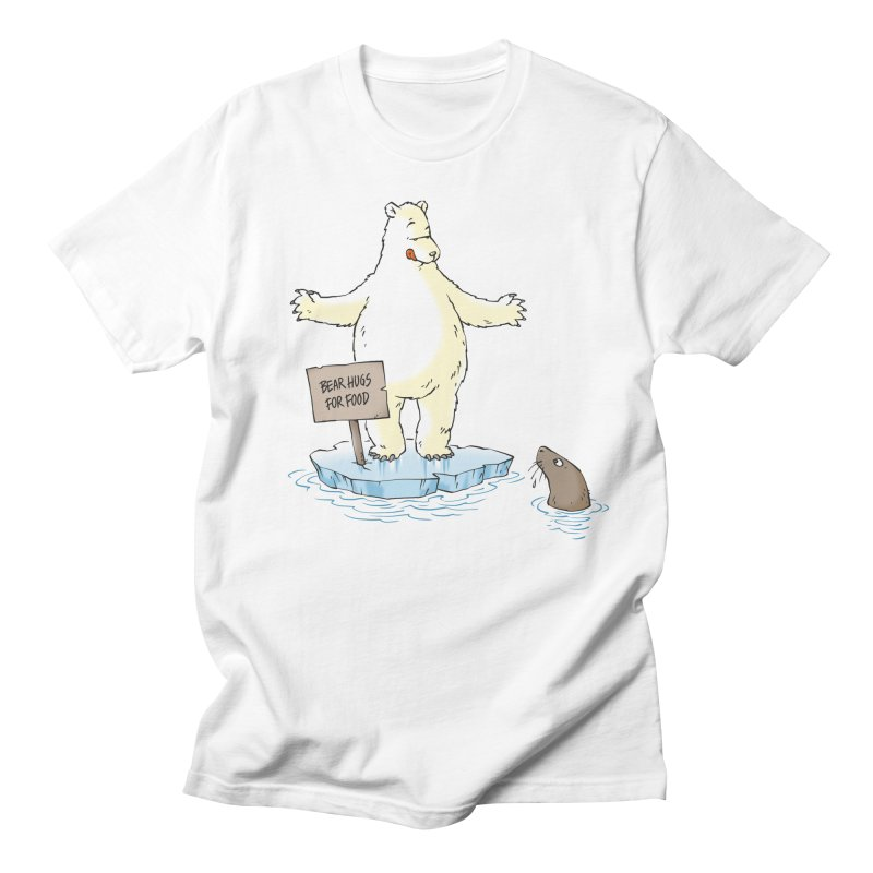 Bear Hugs For Food Men's T-shirt by Freehand