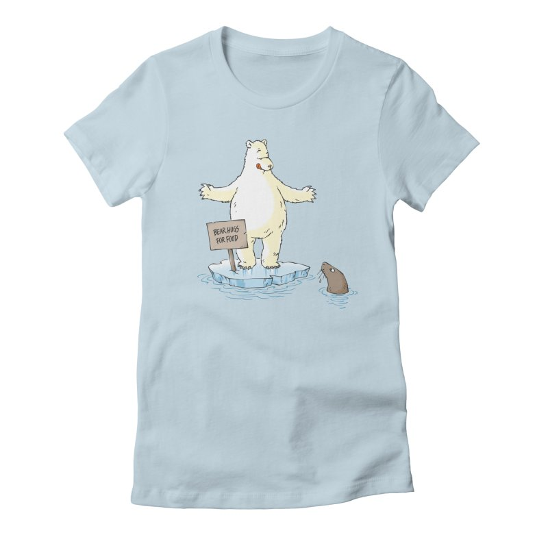 Bear Hugs For Food Women's T-Shirt by Freehand