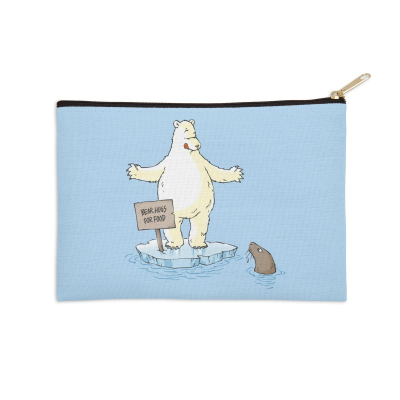 Bear Hugs For Food Accessories Zip Pouch by Freehand