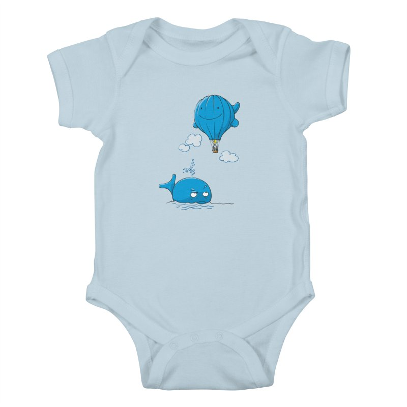 Floating Envy Kids Baby Bodysuit by Freehand