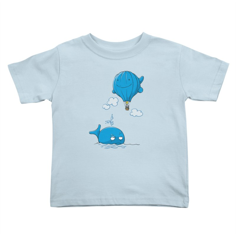 Floating Envy Kids Toddler T-Shirt by Freehand