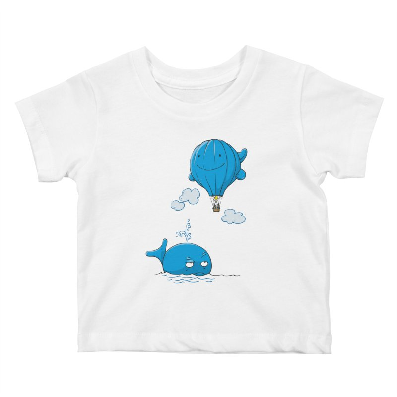 Floating Envy Kids Baby T-Shirt by Freehand