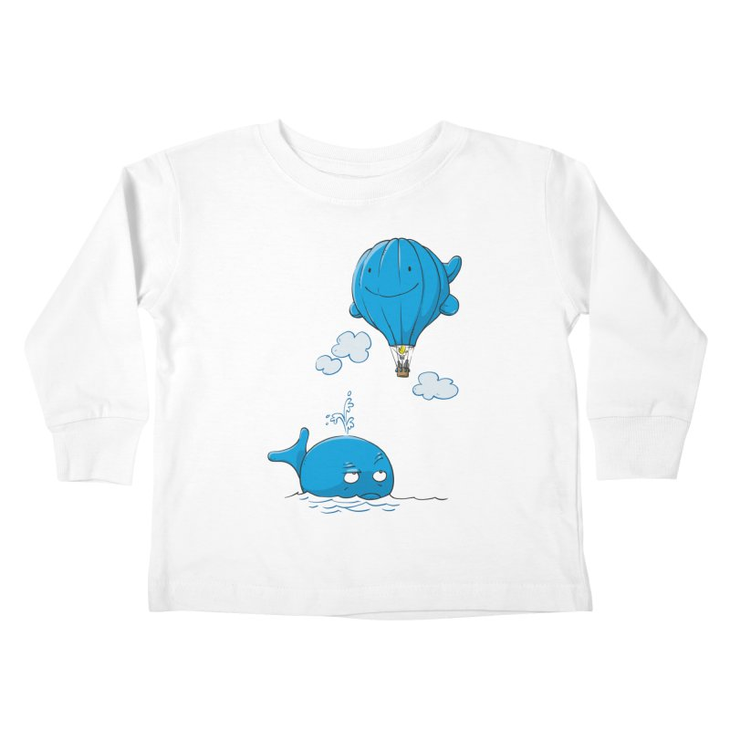 Floating Envy Kids Toddler Longsleeve T-Shirt by Freehand