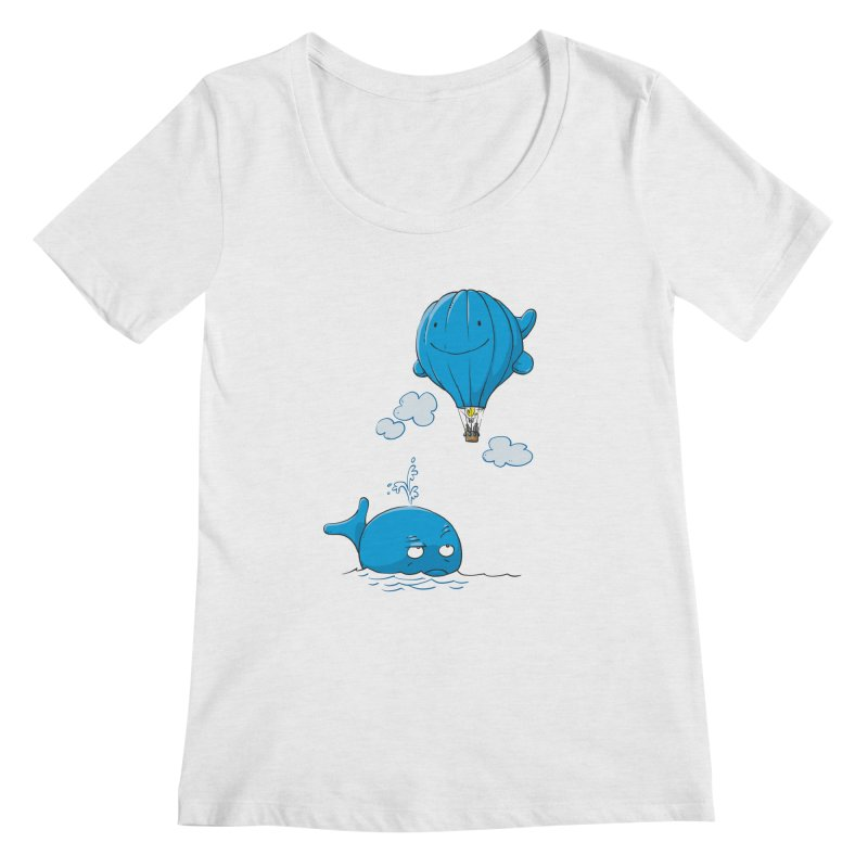 Floating Envy Women's Scoopneck by Freehand