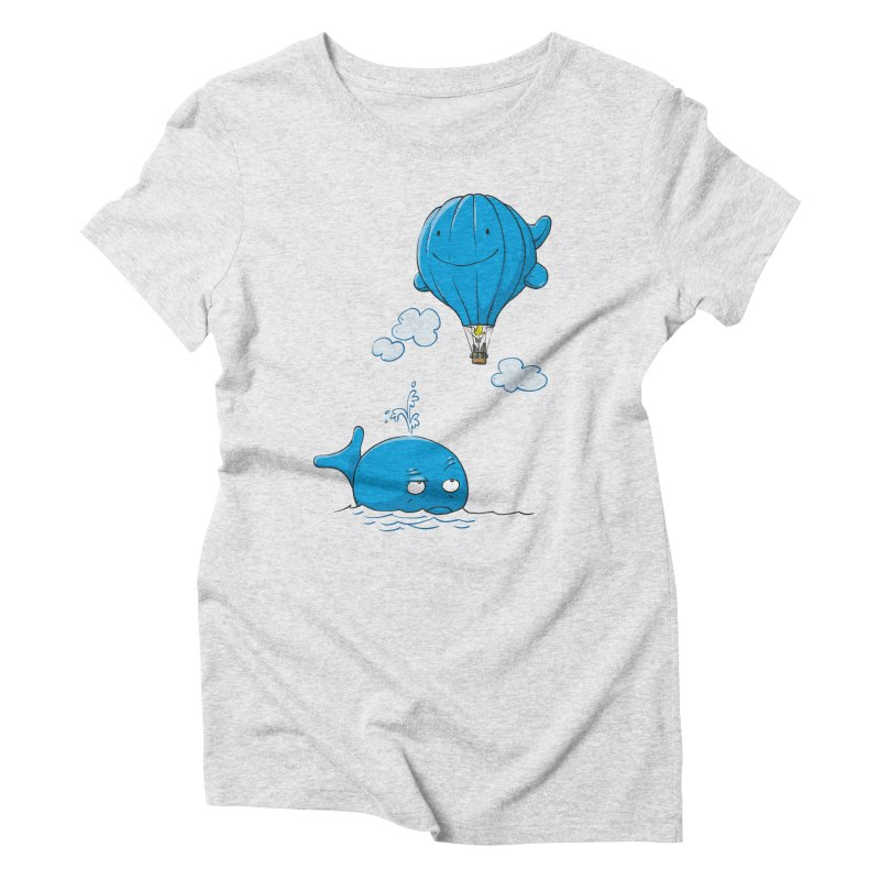 Floating Envy Women's Triblend T-shirt by Freehand