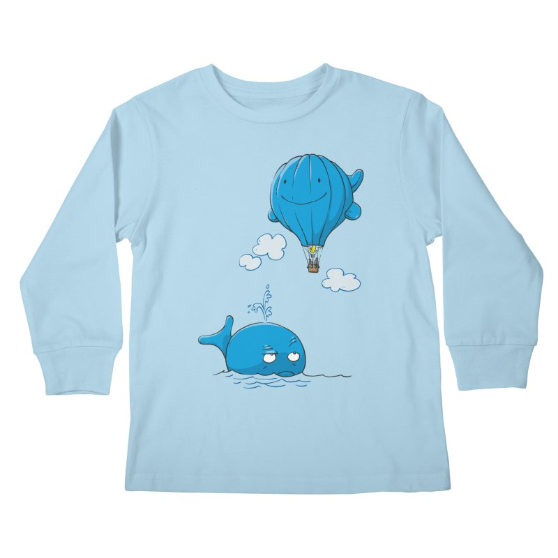Floating Envy Kids Longsleeve T-Shirt by Freehand