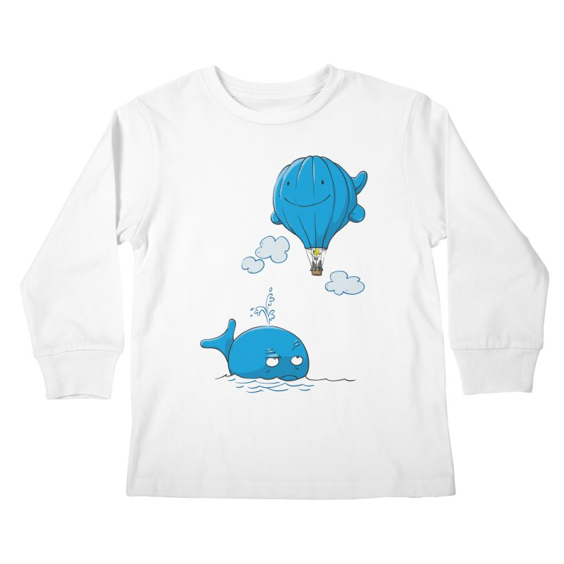 Floating Envy Kids Longsleeve T-Shirt by Freehand