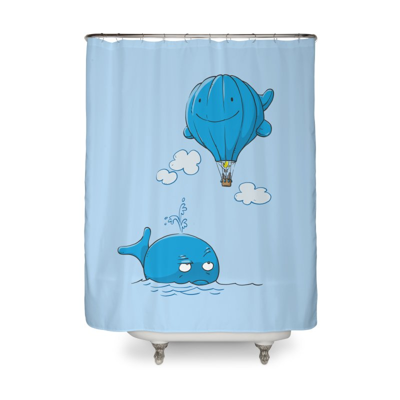 Floating Envy Home Shower Curtain by Freehand