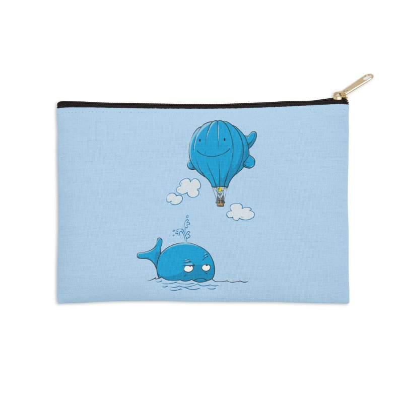 Floating Envy Accessories Zip Pouch by Freehand