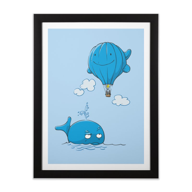 Floating Envy Home Framed Fine Art Print by Freehand