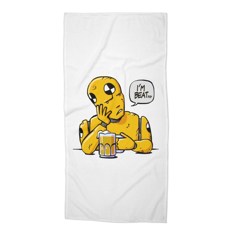 Unhappy Hour Accessories Beach Towel by Freehand