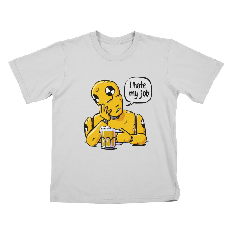 Unhappy Hour Kids T-Shirt by Freehand