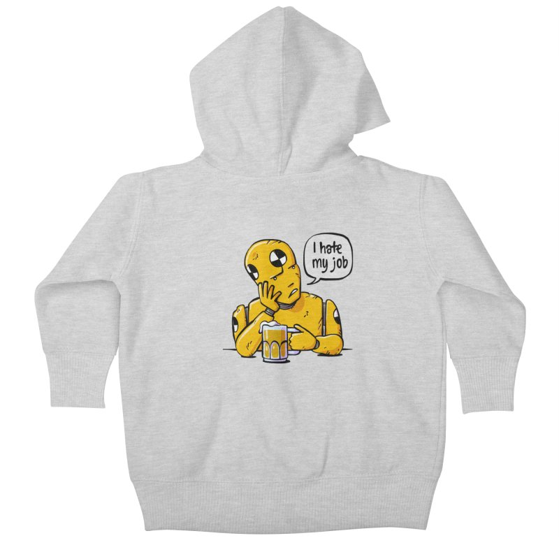 Unhappy Hour Kids Baby Zip-Up Hoody by Freehand