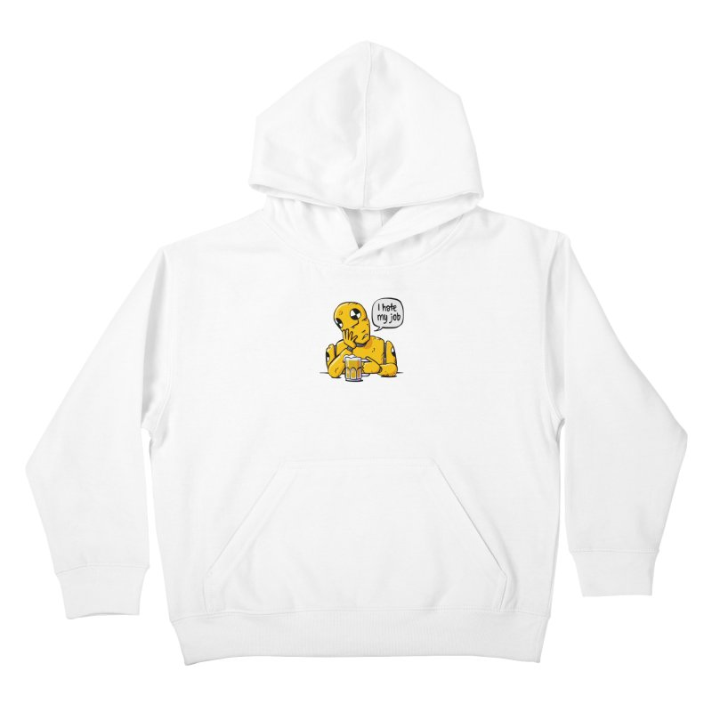 Unhappy Hour Kids Pullover Hoody by Freehand