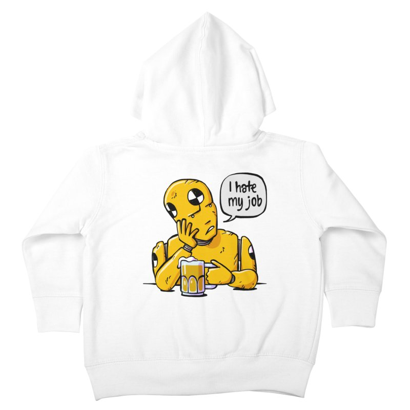 Unhappy Hour Kids Toddler Zip-Up Hoody by Freehand
