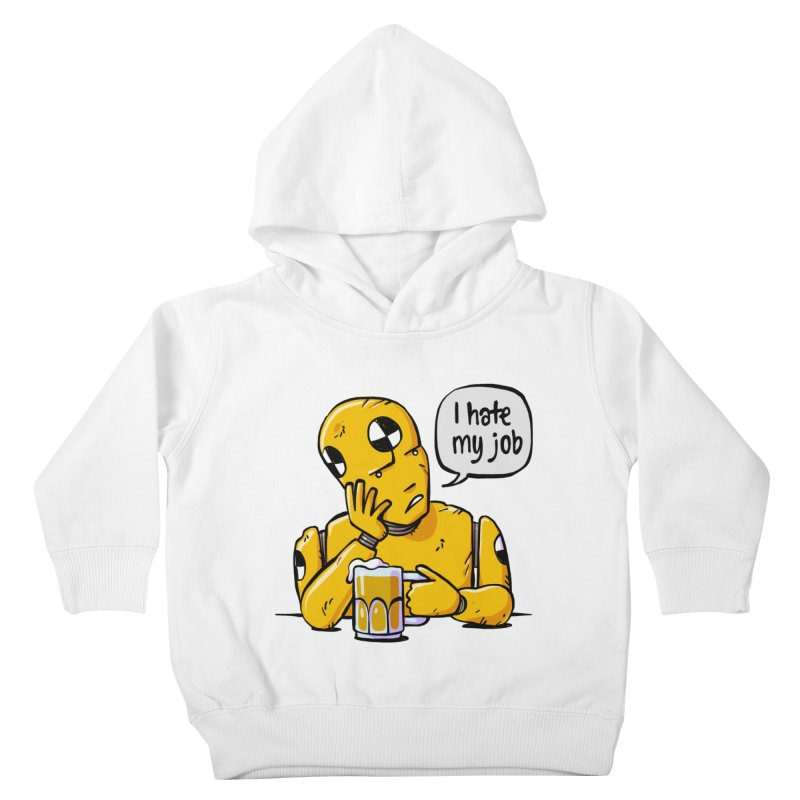 Unhappy Hour Kids Toddler Pullover Hoody by Freehand