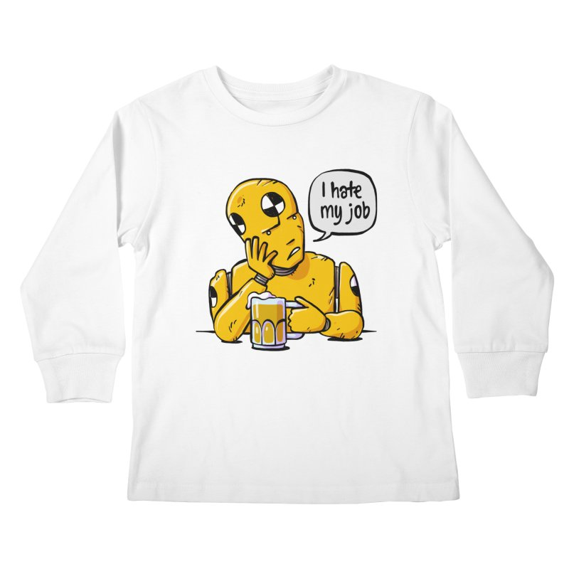 Unhappy Hour Kids Longsleeve T-Shirt by Freehand