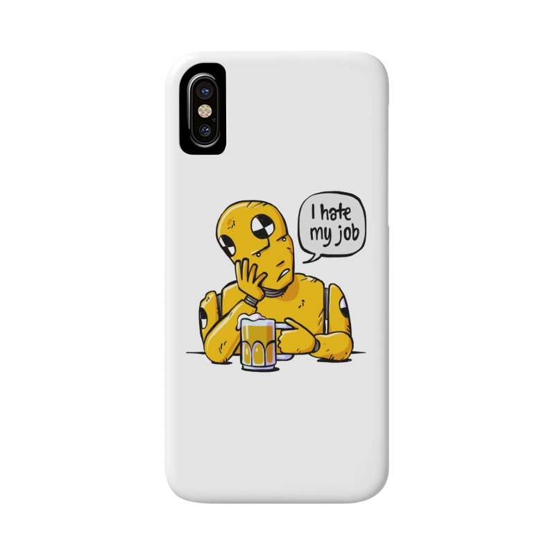 Unhappy Hour Accessories Phone Case by Freehand